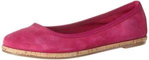 Tamaris Damen 22117 Geschlossene Ballerinas, Pink (Fuxia 513), 37 EU