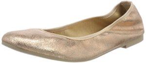 Tamaris Damen 22128 Geschlossene Ballerinas, Pink (Rose Metallic), 36 EU