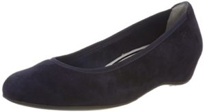 Tamaris Damen 22421 Pumps, Blau (Navy Suede), 38 EU