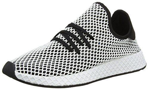 adidas Herren Deerupt Runner Gymnastikschuhe, Schwarz (Core Black/Core Black/FTWR White), 44 2/3 EU
