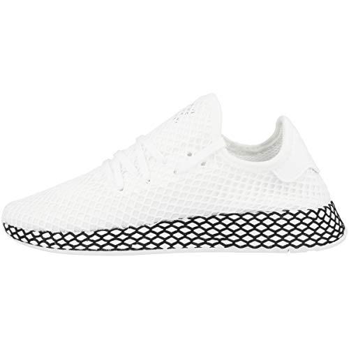 adidas Herren Deerupt Runner Gymnastikschuhe, Weiß (FTWR White/FTWR White/Core Black), 48 2/3 EU