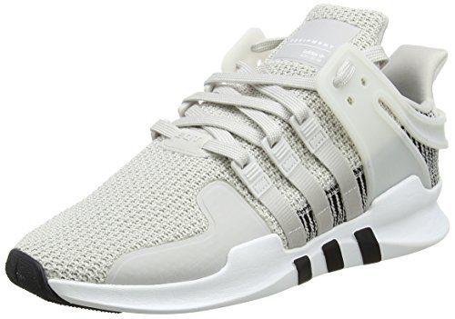 adidas Herren EQT Support ADV Sneaker, Weiß (Footwear White/Footwear White/Grey One), 43 1/3 EU