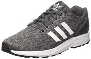 adidas Herren Flux BY9423 Laufschuhe, Mehrfarbig (Grey Five F17/Ftwr White/Core Black), 42 2/3 EU