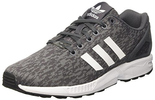 adidas Herren Flux BY9423 Laufschuhe, Mehrfarbig (Grey Five F17/Ftwr White/Core Black), 42 2/3 EU