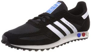 adidas Herren LA Trainer Fitnessschuhe, Schwarz (Negbas/Ftwbla / Blacla 000), 44 2/3 EU