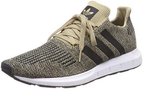 adidas Herren Swift Run Fitnessschuhe, Gelb (Oronat/Negbas / Ftwbla 000), 46 EU