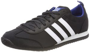 adidas Herren VS Jog Gymnastikschuhe, Schwarz (Core Black/FTWR White/Collegiate Royal), 44 EU