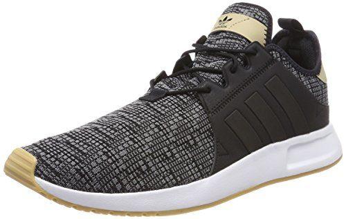 adidas Herren X_PLR AH2360 Fitnessschuhe, Schwarz (Negbás / Gum3 000), 44 EU