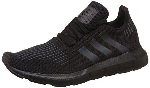 adidas Unisex-Erwachsene Swift Run Laufschuhe, Schwarz (Core Black/Utility Black/Core Black), 46 EU