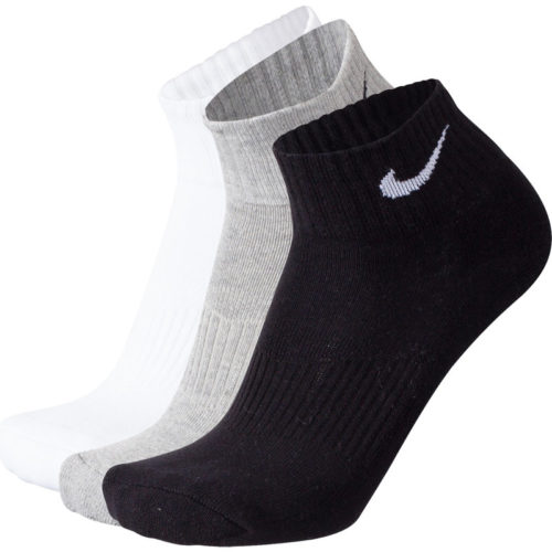 Nike COTTON QUARTER 3ER PACK - Unisex Socken
