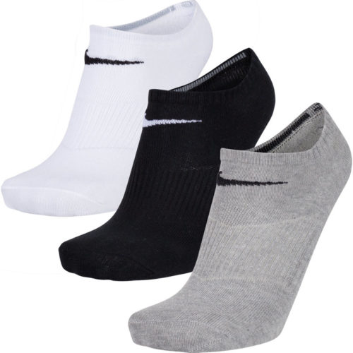 Nike COTTON LIGHTWEIGHT NO SHOW 3ER PACK - Unisex Socken