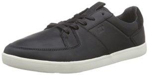 Boxfresh CLADD ICN LEA, Herren Sneakers, Schwarz (BLACK), 42 EU