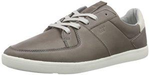 Boxfresh CLADD ICN LEA MGRY, Herren Sneakers, Grau (MED Grey/Griffin Grey), 46 EU