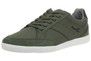 Boxfresh Creeland TRH RIP NYL/SDE Herren Sneaker Schuhe E14100 grün, Schuhgröße:EUR 43