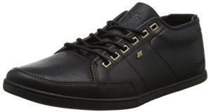 Boxfresh Herren Spencer Sneaker,Schwarz,Gr. 42