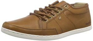 Boxfresh SPARKO ICN LEA LIN/TPE, Herren Sneakers, Braun (LION/TAUPE), 40 EU