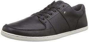 Boxfresh SPENCER ICN LEA BLK, Herren Sneakers, Schwarz (BLACK), 46 EU