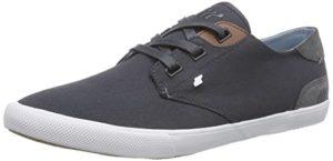 Boxfresh STERN ICN WXD CNVS/SDE NVY/WHT, Herren Sneakers, Blau (NAVY/WHITE), 43 EU