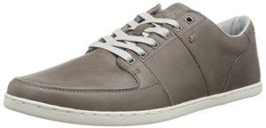 Boxfresh Spencer ICN LEA MGRY/GRIF Gry, Herren Sneakers, Grau (MED Grey/Griffin Grey), 41 EU