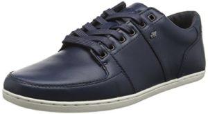 Boxfresh Spencer Icn Lea Nvy, Herren Sneaker, Blau (Marineblau), 42 EU (8 UK)