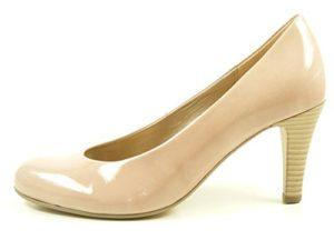 Gabor 75-210 Schuhe Damen Kaffir Lack Pumps Weite F, Schuhgröße:39;Farbe:Rosa