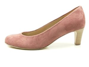 Gabor 85-200 Schuhe Damen Microvelour Pumps Weite F, Schuhgröße:42;Farbe:Rosa