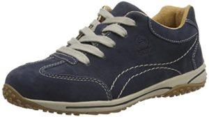 Gabor Comfort, 06.385.46 Damen Leder Sneaker , Blau (Dark Blue Nubuck), 40.5 EU (7 UK)