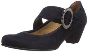 Gabor Shoes 05.45_Gabor Damen Knöchelriemchen Pumps, Blau (Nightblue), 38.5 EU