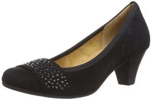 Gabor Shoes 35.482 Damen Pumps, Schwarz (schwarz 17), 38.5 EU