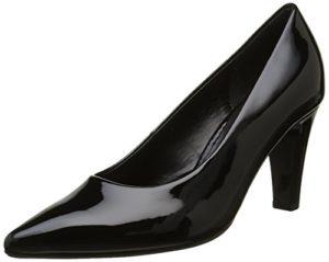 Gabor Shoes 51.280 Damen Pumps, Schwarz (schwarz (+Absatz) 77), 40 EU (6.5 Damen UK)