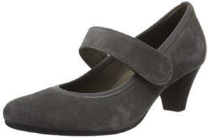 Gabor Shoes 55.481 Damen Pumps, Grau (Dark-Grey 19), 38.5 EU (5.5 Damen UK)