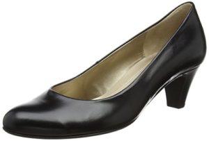 Gabor Shoes Basic, Damen Pumps, Schwarz (schwarz 37), 39 EU (6 UK)