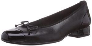 Gabor Shoes Comfort Basic, Damen Geschlossene Ballerinas, Schwarz (schwarz 67), 39 EU (6 Damen UK)