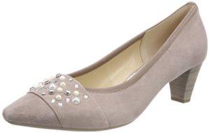 Gabor Shoes Damen Basic Pumps, Beige (Nude), 41 EU