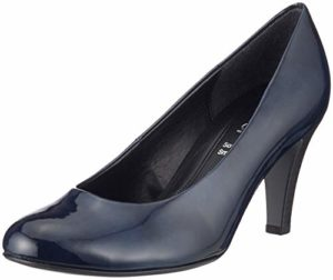 Gabor Shoes Damen Basic Pumps, Blau (Marine 76), 35 EU