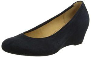 Gabor Shoes Damen Basic Pumps, Blau (Pazifik), 40.5 EU
