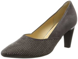 Gabor Shoes Damen Basic Pumps, Grau (19 Zinn), 39 EU