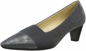 Gabor Shoes Damen Basic Pumps, Grau (Argento/Fucile 69), 42 EU