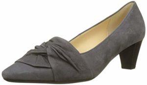 Gabor Shoes Damen Basic Pumps, Grau (Dark-Grey 19), 41 EU