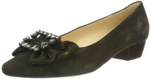 Gabor Shoes Damen Basic Pumps, Grün (Bottle 11), 39 EU