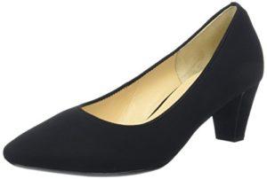Gabor Shoes Damen Basic Pumps, (Schwarz), 38.5 EU