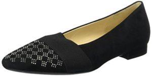 Gabor Shoes Damen Basic Pumps, Schwarz(Altsilber), 38 EU