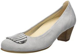 Gabor Shoes Damen Comfort-66.152 Pumps, Grau (Light Grey 40), 38.5 EU