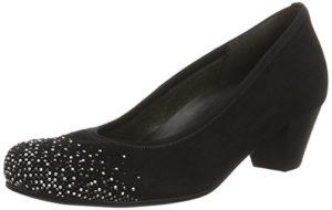 Gabor Shoes Damen Comfort-66.154 Pumps, Blau (Pazifik Strass 26), 38.5 EU