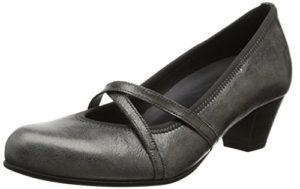 Gabor Shoes Damen Comfort Basic Pumps, Grau (10 Anthrazit), 38.5 EU