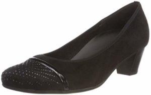 Gabor Shoes Damen Comfort Basic Pumps, (Schwarz 87), 40.5 EU