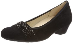 Gabor Shoes Damen Comfort Basic Pumps, Schwarz (Deko), 35.5 EU