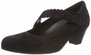 Gabor Shoes Damen Comfort Basic Pumps, Schwarz (Deko) 97, 37.5 EU