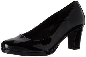 Gabor Shoes Damen Comfort Fashion Pumps, (87 Schwarz), 38 EU