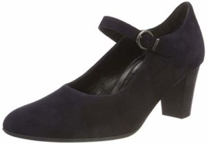 Gabor Shoes Damen Comfort Fashion Pumps, Blau (Atlantik 86), 36 EU